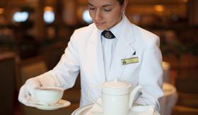 Cunard Line Afternoon Tea
