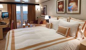 Cunard staterooms Club Balcony