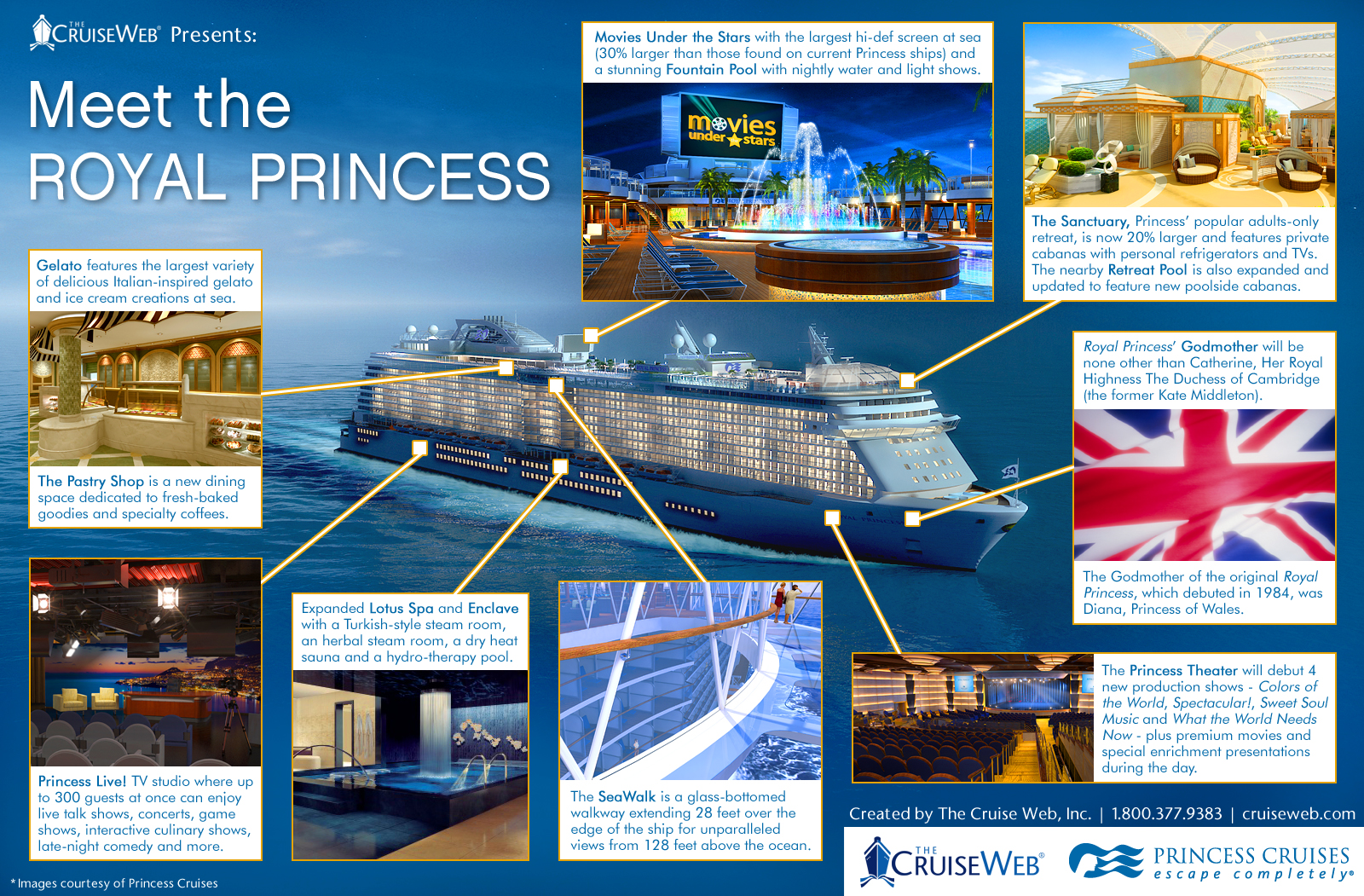 Meet the Royal Princess: An Infographic