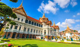 Bangkok's Grand Palace in Thailand