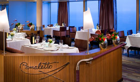 Holland America dining Canaletto