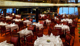 Holland America dining Main Dining Room