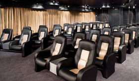Holland America entertainment Movie Night