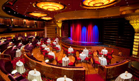 Holland America Entertainment Showroom at sea