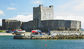 Holland America Line Carrickfergus Castle Northern Ireland