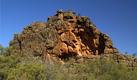 Holland America Line Corroboree Rock aborogines sanctuary Mac Donnell Ranges