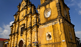 Holland America Line Iglesia de la Recoleccion Church of the Recoleccion in Leon Nicaragua