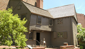 Holland America Line Paul Revere house in Boston Massachusetts