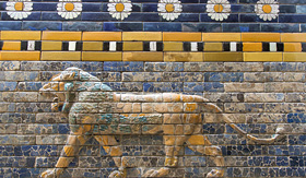 Holland America Line preview animals on the Ishtar Gate Pergamon Museum