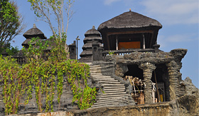 Holland America Line Tanah Lot Temple Bali Indonesia