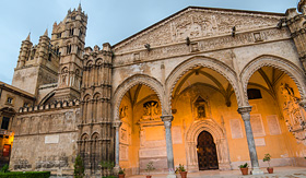 Holland America Line the cathedral of Palermo Sicily Italy