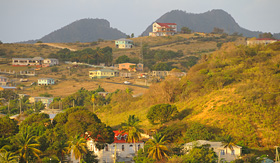 Holland America Line tropical landscape on caribbean island of Antigua
