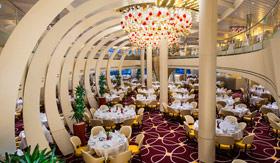 Dining aboard ms Nieuw Statendam