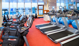 Holland America spa & fitness Fitness Center