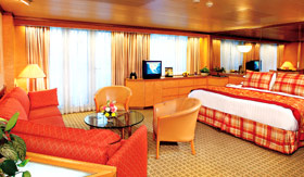 Holland America staterooms Neptune Suite