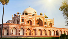 India river cruises Humayuns Tomb in New Delhi India