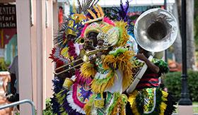 Junkanoo Carnival in Bahamas