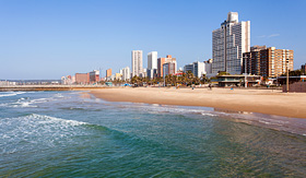 MSC Cruises - Beach in Durban, South Africa
