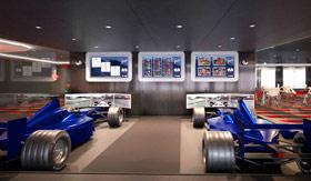 F1 Racing Simulator aboard MSC Bellissima