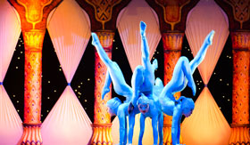 Acrobatic Performance in China