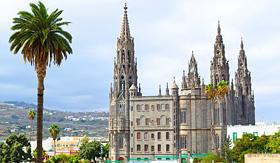 MSC Cruises Church of San Juan Bautista Arucas Gran Canaria Spain
