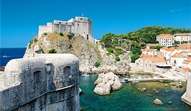 MSC Cruises coast line of Dubrovnik