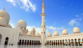 Sheikh Zayed Mosque during Daytime