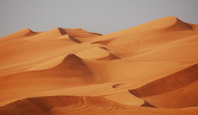 Explore the Golden Sand Dunes in Dubai