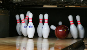Bowling aboard MSC Grandiosa