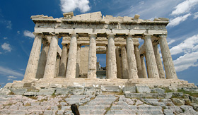 MSC Cruises historic landmark Parthenon