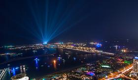 MSC Cruises Palm Jumeirah on new years eve 2013 Palm Jumeirah