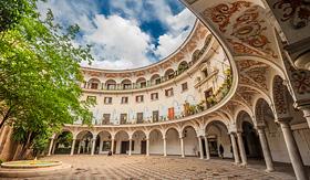 MSC Cruises Plaza del Cabildo Seville Spain