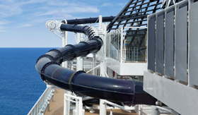MSC Cruises Preziosa Vertigo Waterslide