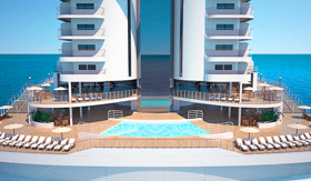 MSC Seaview Aft Pool