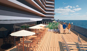 MSC Seaview Promenade Rendering