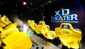 MSC entertainment 4D Movie Theater