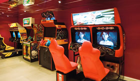 MSC entertainment Video Arcade