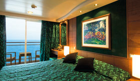 MSC staterooms Balcony Suite