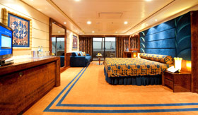 MSC staterooms Yacht Club Deluxe Suite