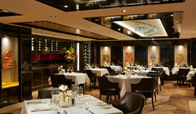 NCL dining The Haven Restaurant