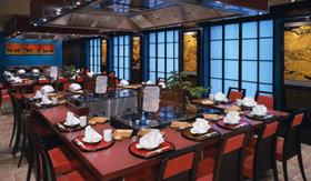 NCL dining Shabu Shabu.