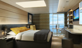 NCL staterooms Suites & Penthouses