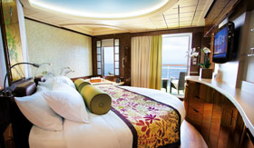 NCL staterooms Spa Suite