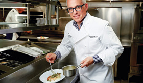 Norwegian Breakaway's Ocean Blue by Geoffrey Zakarian