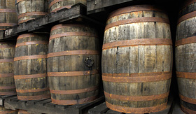 Norwegian Cruise Line France, Martinique, barrels of old rum