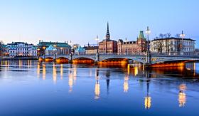 Norwegian Cruise Line Old Town Gamla Stan in Stockholm, Sweden