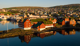 Norwegian Cruise Line Torshavn of the Faroe Islands