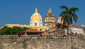Norwegian Cruise Line walled town of Cartagena Colombia