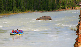 Norwegian Cruise Line White Water rafting in Alaska