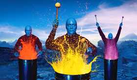 Norwegian Epic Blue Man Group